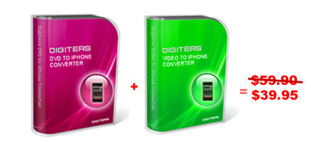 Digiters DVD to iPod Converter + Vid